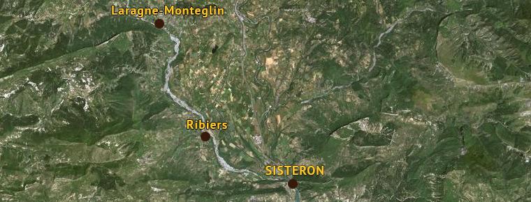Ribiers et Sisteron